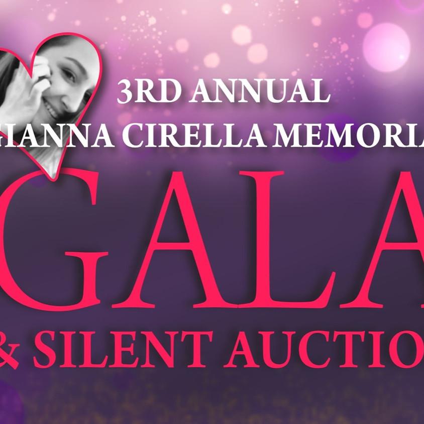 3rd Annual Gianna Cirella Memorial Gala & Silent Auction