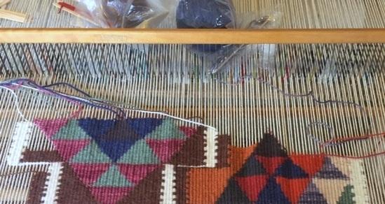 אריגה בנול- שטיח קילים