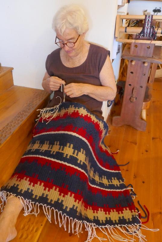 שטיח ארוג בסגנון סקנדינבי
