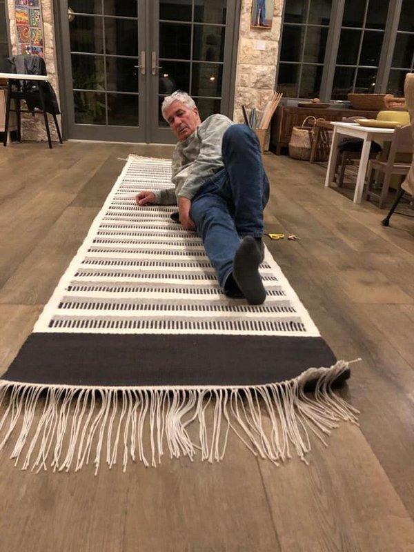 שטיח ארוג בנול רצפה