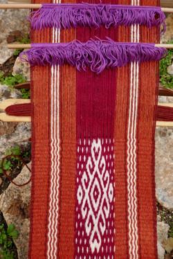 Andean Pebble weave in Israel