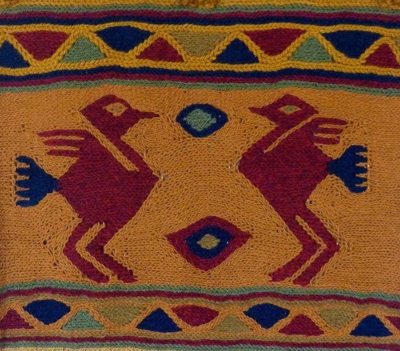 Frame weaving