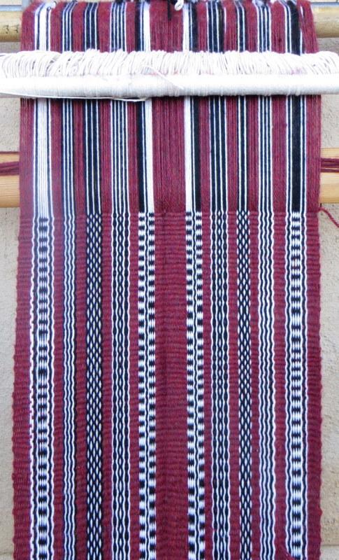 Bedouin weaving  אריגה ידנית