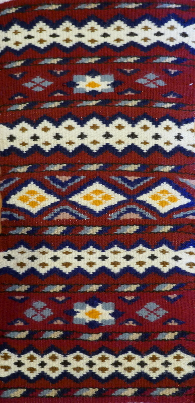 Moroccan weaving אריגה ידנית בנול