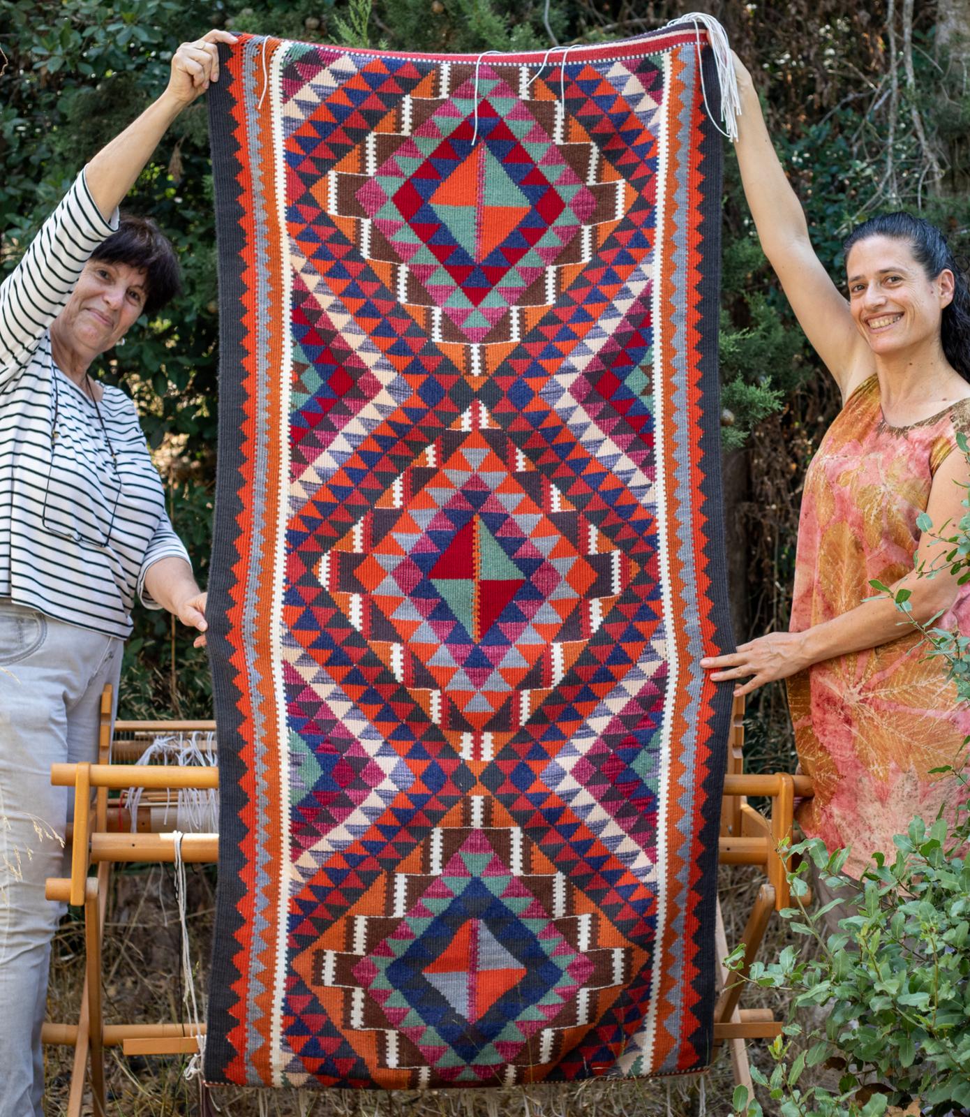 שטיח קילים של חלי המוכשרת