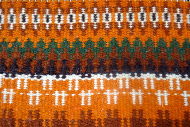 Krokbragd שטיח ארוג בנול