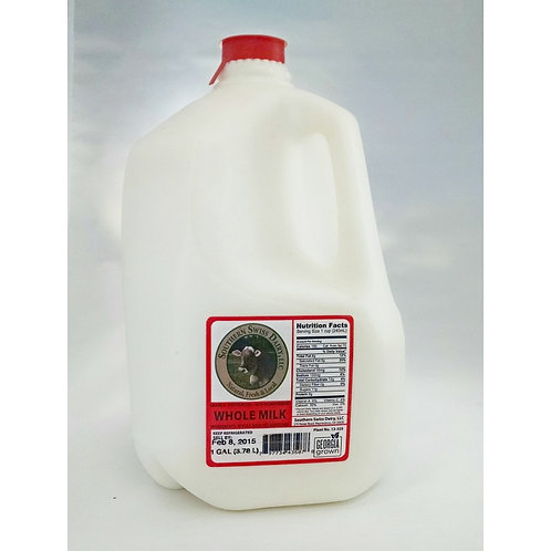 Milk, Whole - Gallon, Organic