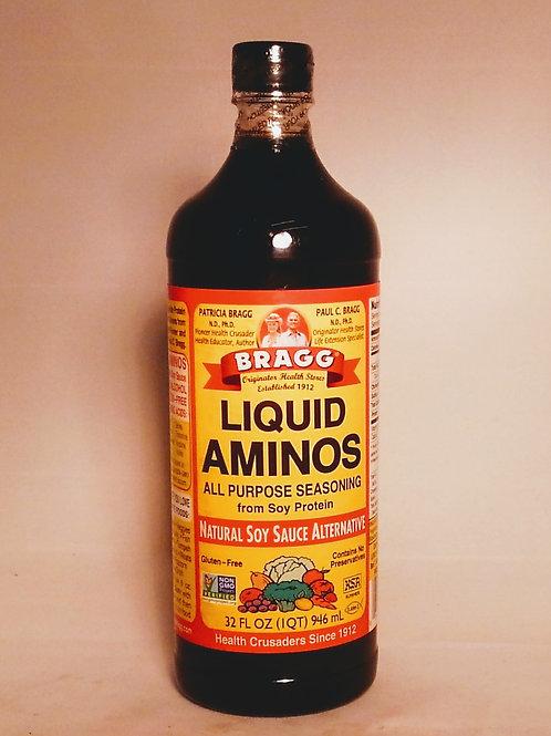 Liquid Aminos - Bragg's 16oz.