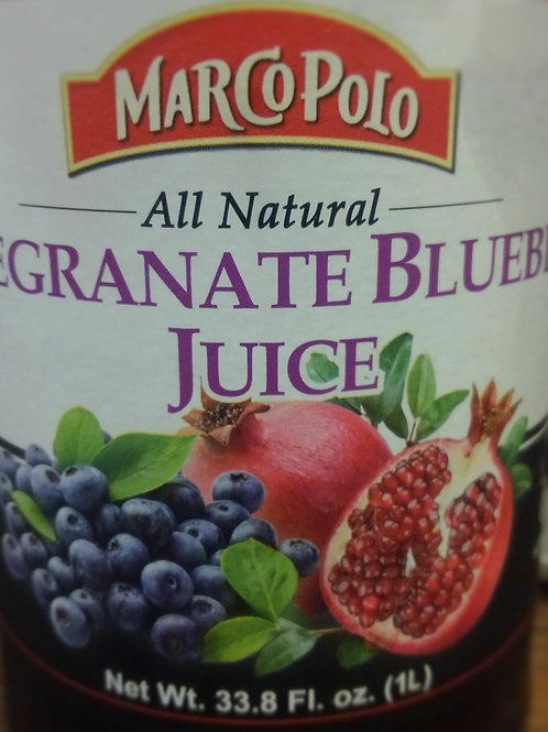 Blueberry Pomegranate Juice, 33.8 oz
