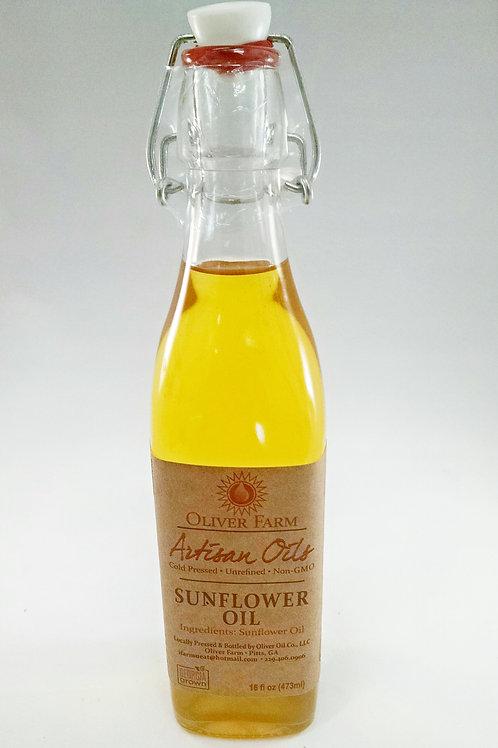 Sunflower Oil - 16oz. Oliver Farms non GMO
