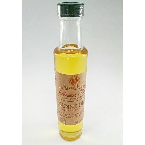 Benne Seed Oil - 8oz. Oliver Farms Non-GMO