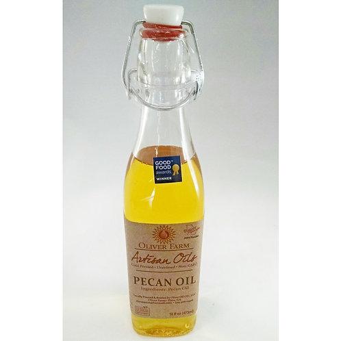 Pecan Oil - 16oz. Oliver Farms Non-GMO