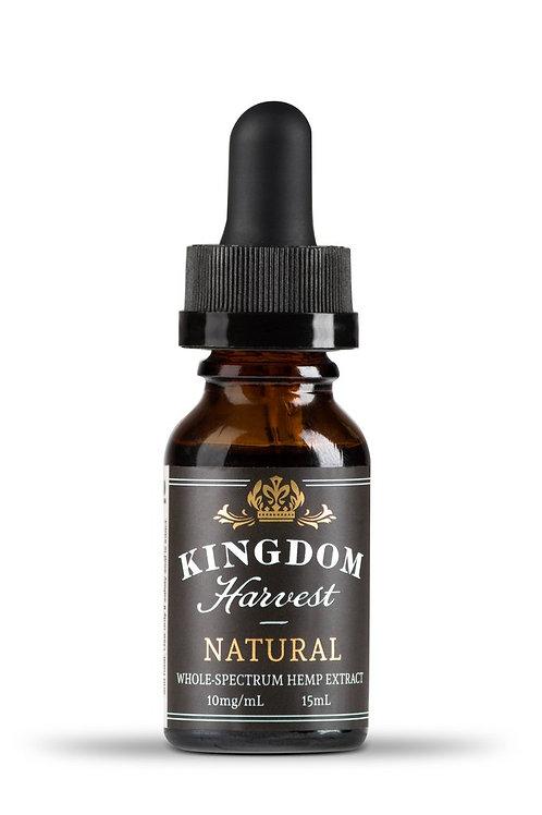 Kingdom Harvest 15ml Peppermint 10mg/ml NC Hemp Extract