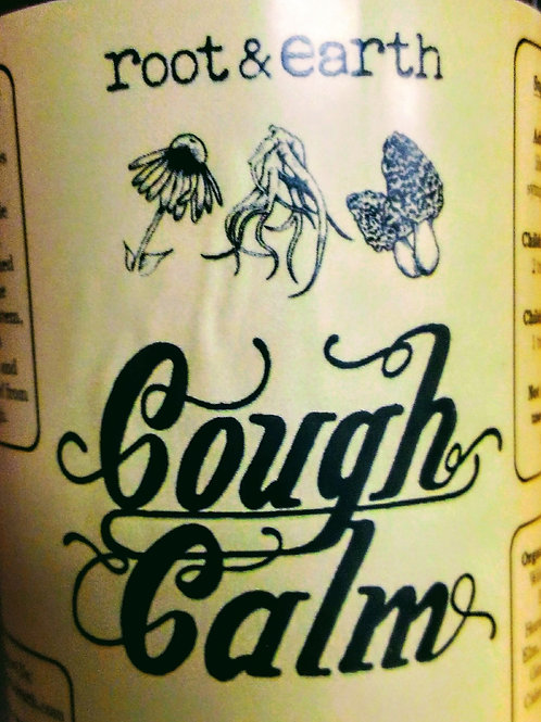 Cough Calm - 8oz. Root & Earth