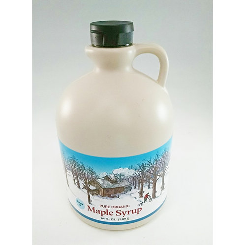"Maple Syrup - Organic Grade ""B"" 1/2 Gallon"