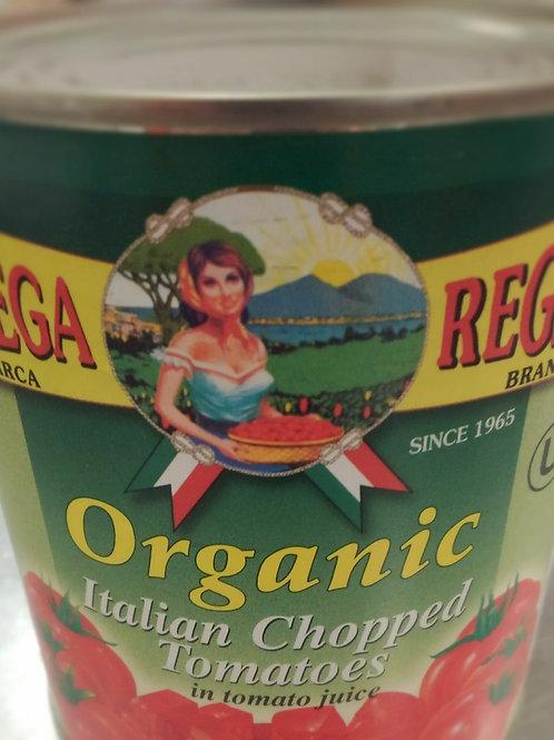 Diced Tomatoes - Rega 28oz can  Organic