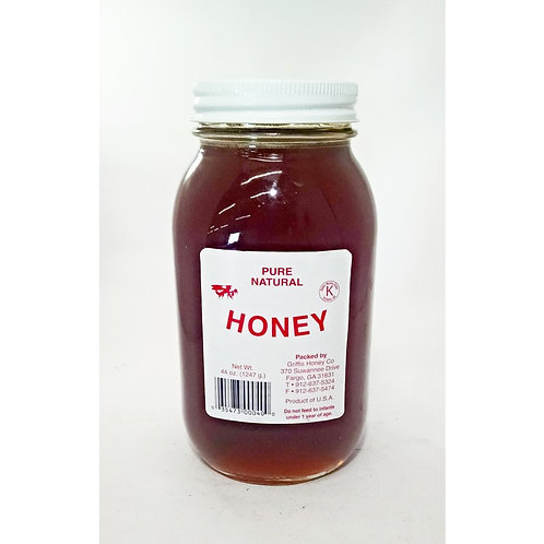 Honey - 32oz. Griffis All Natural GA