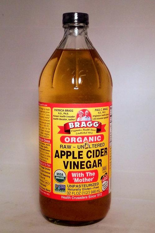 Apple Cider Vinegar - Bragg's 16oz.