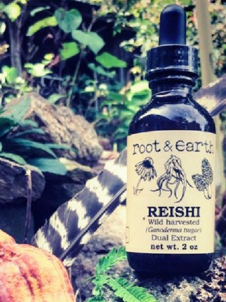 Reishi Tincture - 2oz. Root and Earth Apothics