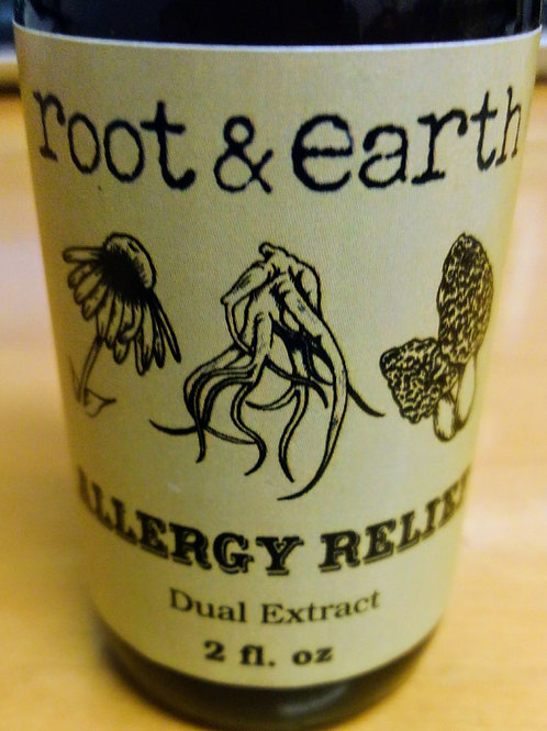 Allergy Relief - 2oz. Dual Extract, Root & Earth