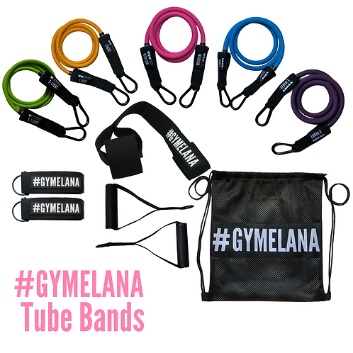 #Gymelana Tube Bands
