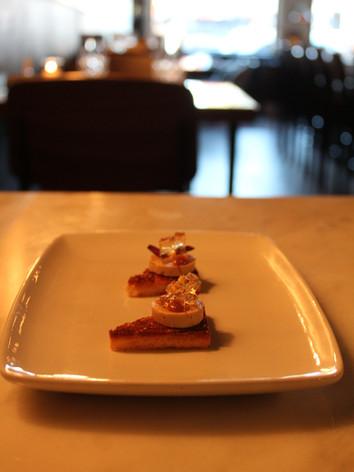 Foie gras torchon - Chef Marco Caballero