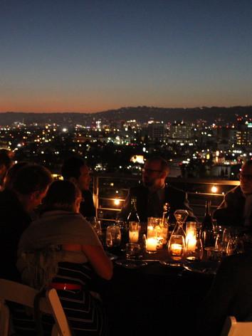 Secret Sunset Supper Club view