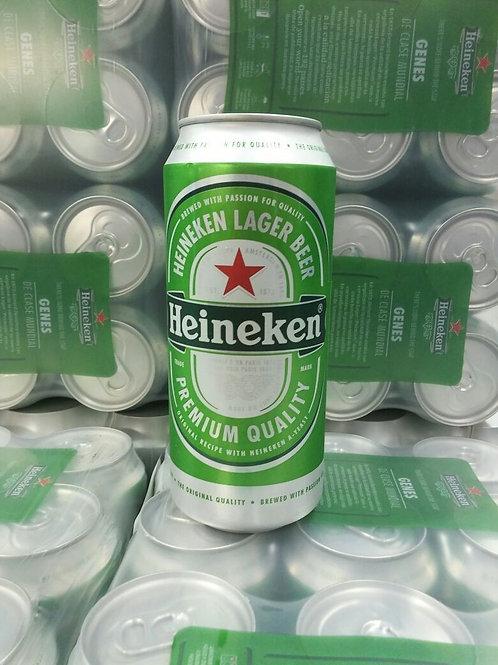 Cerveza HEINEKEN lata 473cc