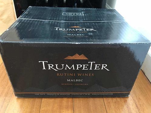 TRUMPETER MALBEC  caja de 6 unidades