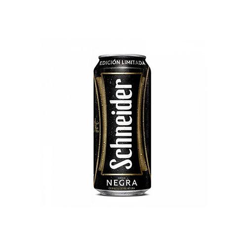 Cerveza Schneider negra lata 473cc.