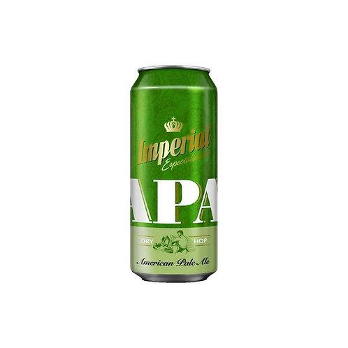 Cerveza IMPERIAL APA  lata 473cc