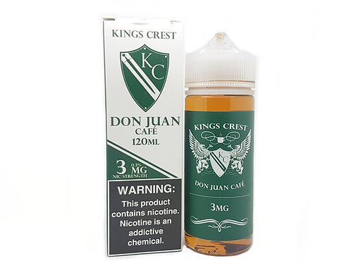 King Crest Don Juan Café 120 ml 3mg
