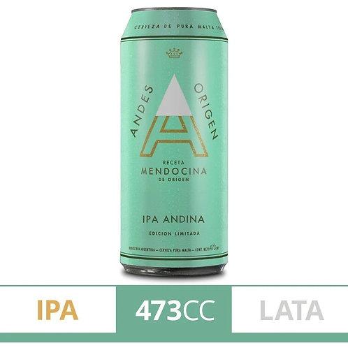 Cerveza ANDES IPA  lata 473cc