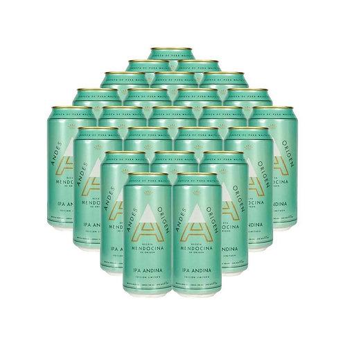 Cerveza ANDES IPA  DE 6 latas 473cc