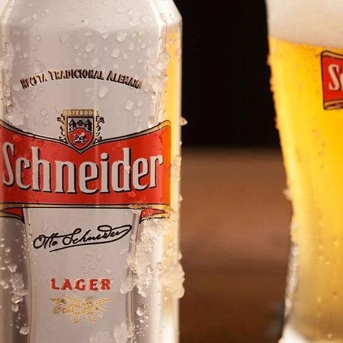 Cerveza Schneider lata 473cc.