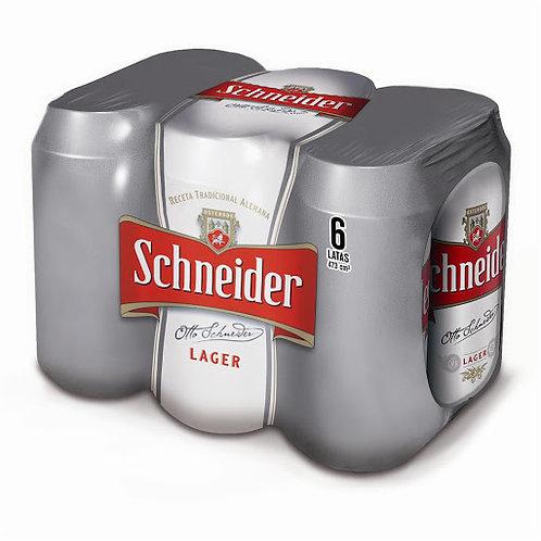 Cerveza Schneider PACK DE 6 latas de 473cc