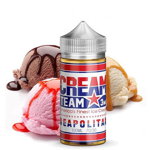 Kings Crest Cream Team Neapolitan 100ml 3mg