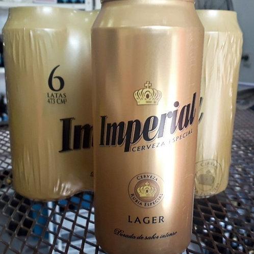 Cerveza IMPERIAL lata 473cc