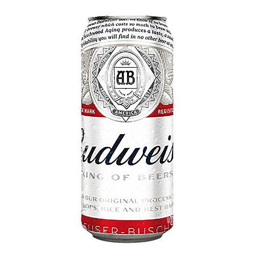 Cerveza BUDWEISER  lata 473cc