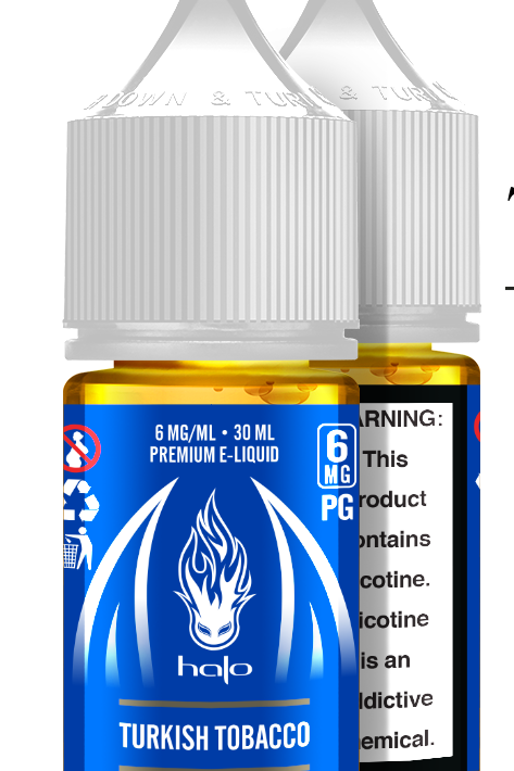 Salt  Halo de tabaco turco 35mg 30ml