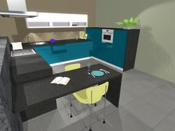 Denim kuchyň