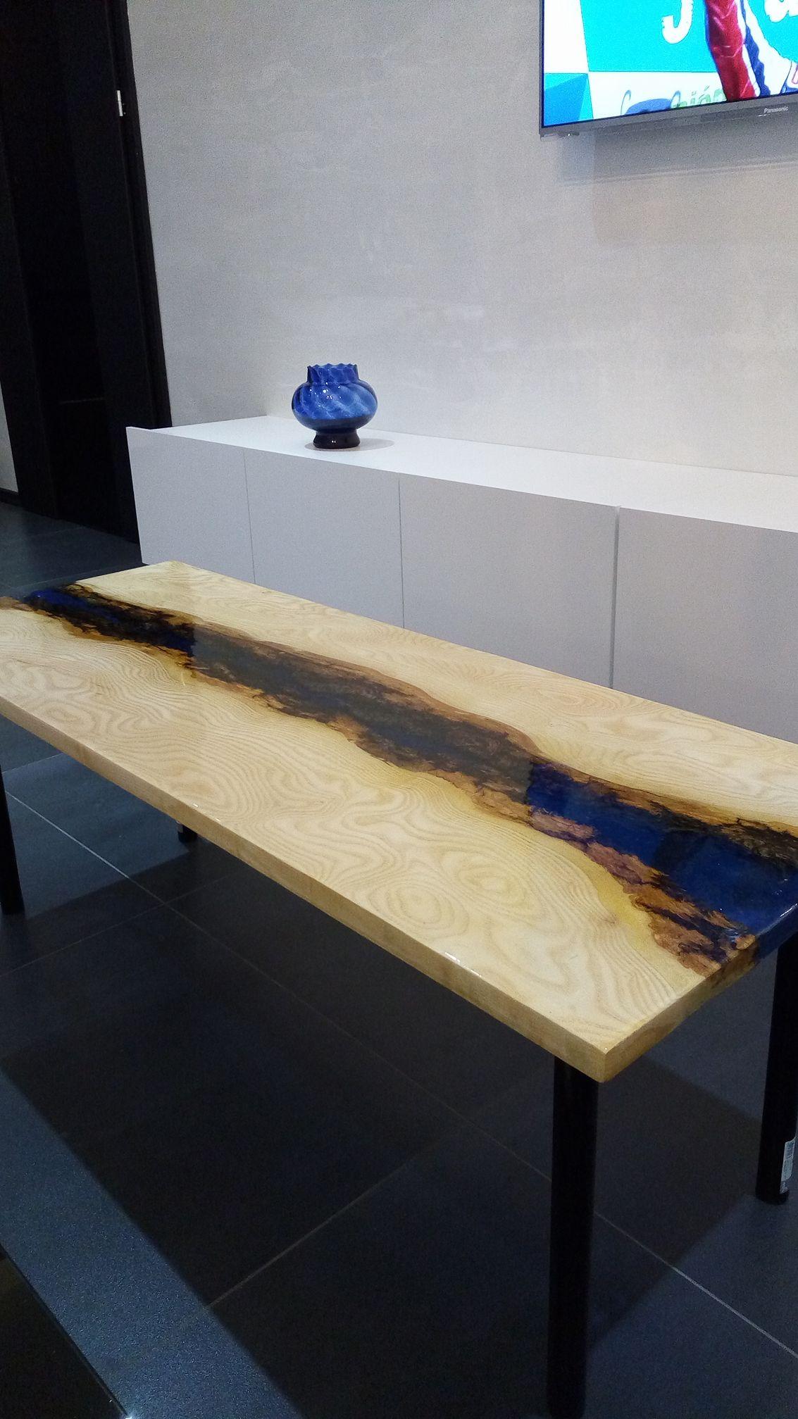 epoxidový stůl 120x45 cm