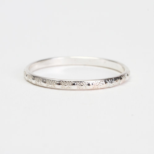 Sterling Silver Dot Stack Ring