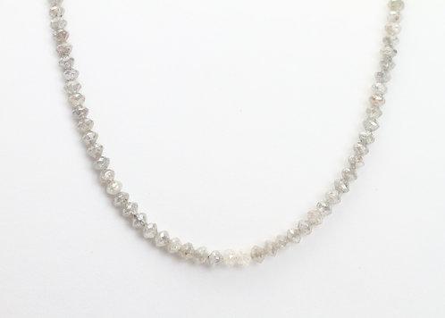 23ct Grey Diamond  Necklace