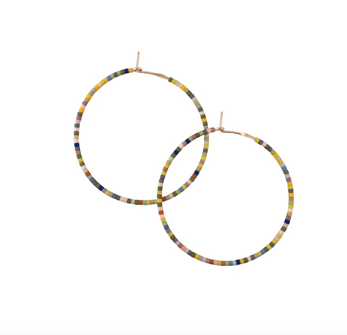 Letting Go Hoops - Perennial - Large