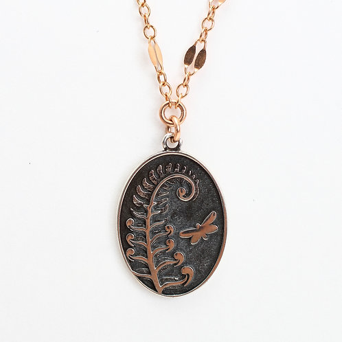 Fern Charm Necklace