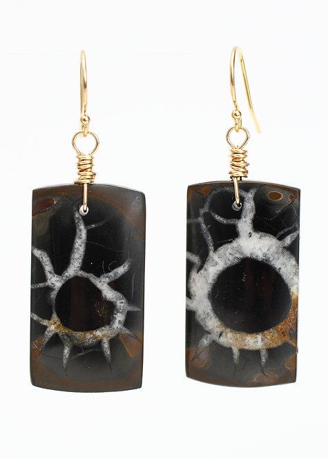 Septarian Earrings