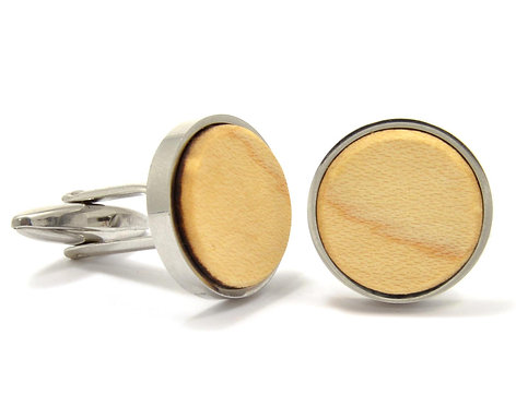 Maple Cuff Links