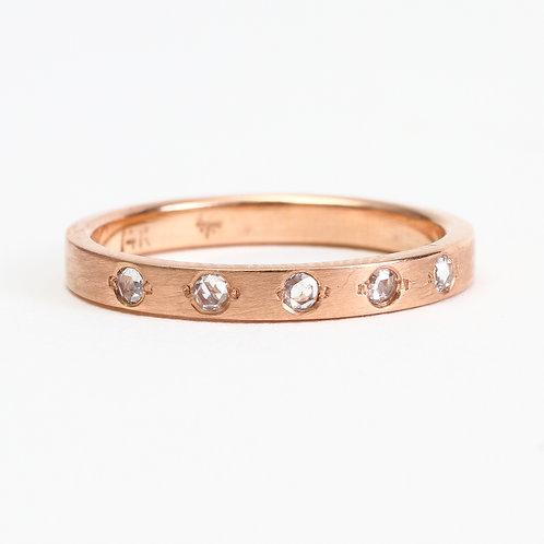 The Primrose Ring - 14K Rose Gold