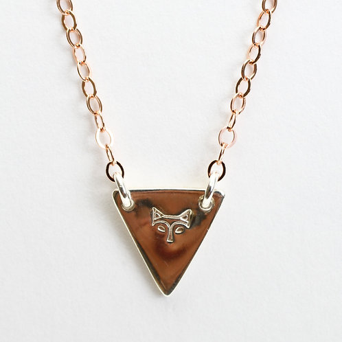 Fox Flag Necklace